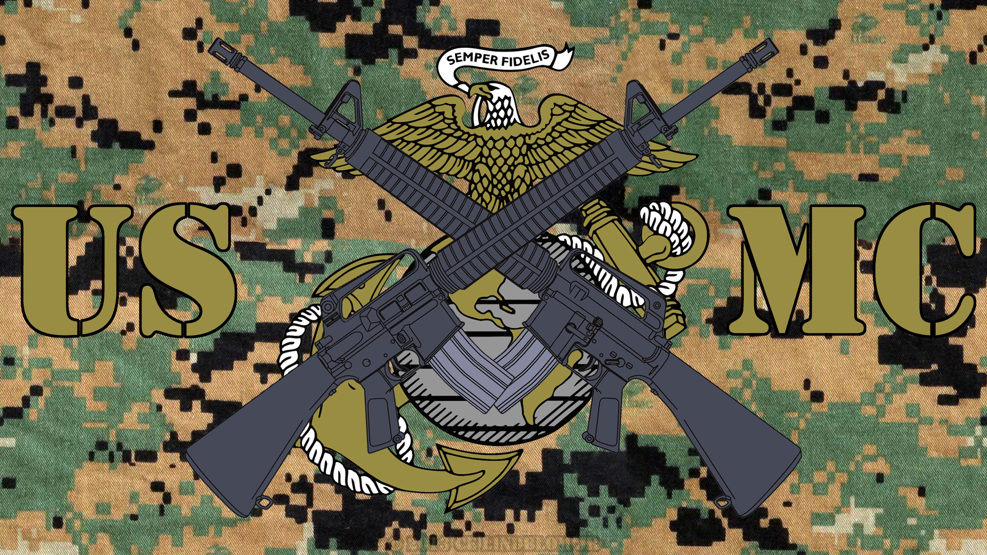 US Marine Corps wallpaper I made. If you want... - What Do You Want?